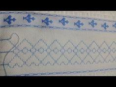 O ponto vagonite é ideal para os iniciantes no bordado, pois é um dos mais fáceis de fazer. Confira algumas dicas e tutoriais para aprender essa técnica. Swedish Weaving, Quilt Tutorials, Make It Yourself, Quilts, Embroidery, Diy, Facebook, Ribbon Crafts, Embroidered Towels