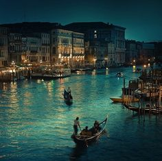 Venice, Italy. I would love to go back!