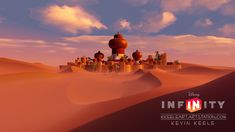 Disney Infinity Aladdin section, Kevin Keele Game Engine, Disney Infinity, Aladdin, Seattle Skyline, Scene, Park, Movie Posters, Design, Game Motor
