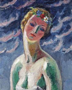 Kees van Dongen - Cérès, oil on canvas