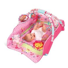 Special Offers - Bright Starts Babys Deluxe Play Place Pink - In stock & Free Shipping. You can save more money! Check It (May 15 2016 at 12:34AM) >> http://babycarseatusa.net/bright-starts-babys-deluxe-play-place-pink/