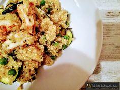 L' insalata di quinoa con zucchine gamberi e piselli è un piatto light e davvero salutare perfetto per una cena estiva e diversa. La quinoa è versatile ed è stata forse la più grande scoperta…
