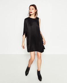 ASYMMETRIC DRESS - DRESSES-WOMAN   ZARA United States