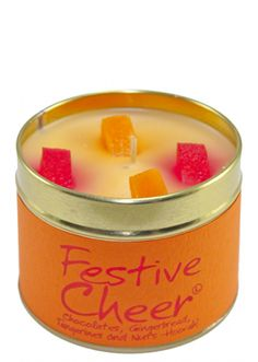 Lily Flame Festive Cheer Tin Candle
