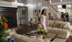 """Revenge:"" Behind the Scenes at Grayson Manor. The Great Room. I love this decor."