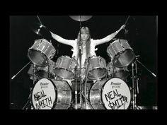 Neal Smith's Billion Dollar Babies 1973 Tour Premier Mirror Ball Drum Set - YouTube