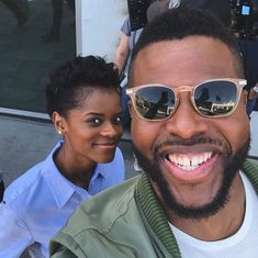 Letitia Wright and Winston Duke, (good times! Marvel Actors, Marvel Characters, Marvel Avengers, Marvel Comics, Young Avengers, Black Panther Party, Black Panther Marvel, Marvel Comic Universe, Marvel Cinematic Universe