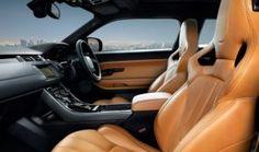Interior Range Rover Evoque by Victoria Beckham