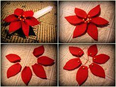 ennyi filc mikulásvirág? Karácsonyi ajándékul a zanyáknak meg a zapáknak. Gyerekjáték az elkészítése, imígyen alakul, ni: E...