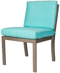 Manhattan Outdoor Side Chair-Available in a Variety of Finishes. Product in photo is from www.wellappointedhouse.com