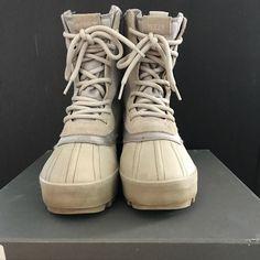 916ca7d0 Yeezy Shoes | Yeezy Season 1 Peyote Duck Boots | Color: Cream/Tan | Size: 7