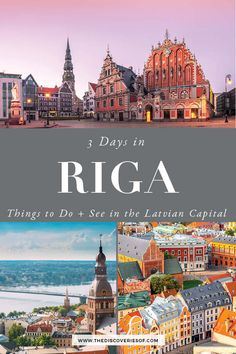 Plan your trip to Riga with this handy itinerary. Latvia's capital is packed with cool things to do - from exploring the gorgeous old down to eating the tasty local food - here's the perfect three day itinerary for Riga. #travel #citybreak #riga #traveldestinations