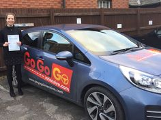 Sarah Atkinson - So happy to have finally passed my driving test with 7 faults! I would definitely recommend GoGoGo to anyone who wants to pass their test quickly.