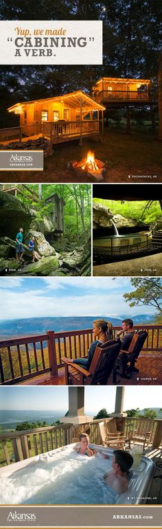 Take in the epic beauty of our state parks from one of Arkansas's many cabins. Mixing the rugged outdoors with southern charm, a cabining trip to The Natural State is one you'll never forget.
