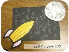 Rowdy in Room 300: Moon FUN!