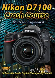 Nikon D7100 Crash Course Tutorial Training Video   Made for Beginners! Assumes viewer has no knowledge about photography - Lessons are short, to the point & easy to understand. #NikonD7100