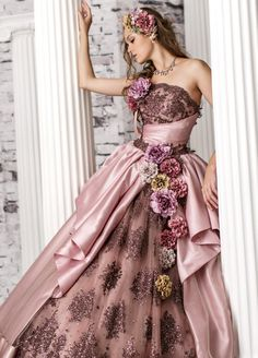 Quince Dresses, Gala Dresses, Formal Dresses, The Dress, Pink Dress, Party Gowns, Wedding Gowns, Fairy Clothes, High Fashion Dresses