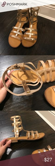 Gladiator sandals Chinese laundry gladiator sandals - worn once. Just not my style Chinese Laundry Shoes Sandals