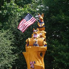 The bunnies at Stoneleigh are ready for the 4th of July! For many years, John and Chara Haas decorated the iconic hare sculpture for the holidays. As the new owners of Stoneleigh: A Natural Garden, Natural Lands fully intends on keeping up the tradition! (Photo by Zinnia Cheetham) Cocktail Attire, Public Garden, Natural Garden, Summer Cocktails, Zinnias, Chara, 4th Of July, Celebration, Bunny