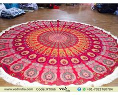 Indian Round Mandala Tapestry Wall Hanging Beach Throw Towel Yoga Mat Tapestries Queen Bohemian Boho bedding, Dorm Bed Tapestries, Beach Blanket