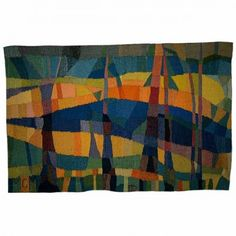 "Molle Cecilie Major / absolutetapestry.com ""Oktober"" - 1979 (October) 185x122 cm"