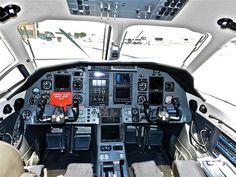PC12 cockpit