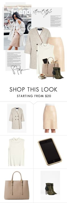 """""""Get the look/ Street style"""" by yexyka ❤ liked on Polyvore featuring French Connection, H&M, Swarovski, Sonia Kashuk and MANGO"""