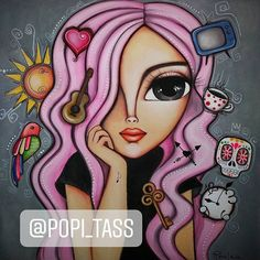 Cow Painting, Fabric Painting, Painting & Drawing, Peacock Drawing, Cubist Art, Paisley Art, Salon Art, Cute Animal Drawings, Digital Art Girl
