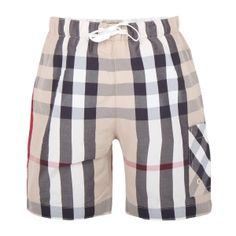 love these burberry swim shorts for little boys...a definite touch of luxury for the summer wardrobe!
