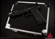 KWA USP Match: The Tomb Raider Gun