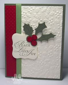 Christmas Cards | Card Making | Stamping | DIY Cards | Creative Scrapbooker Magazine #cards #scrapbooking