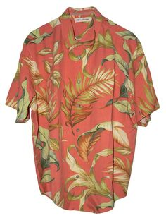 Tommy Bahamama Leafing in the Wind Silk Camp Shirt: Clothing http://tommytyme.com/