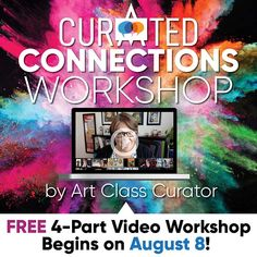 5 Tips for Meaningful Classroom Art Discussion Hands-on and Minds-curious Art Tips for Meaningful Classroom Art DiscussionHello! Welcome to Art Class Curator! Art History Lessons, History For Kids, Art Lessons, Self Esteem Activities, Art Activities, Art Classroom, Physics Classroom, Classroom Displays, Teacher Workshops