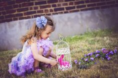 stunning dress girls outdoor photography idea