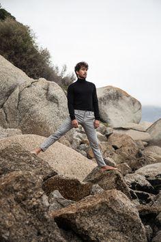 Khalil photographed by Ryan Shaw - 13 Beaches - Instagram: @ryanshawphotography #malemodel #ocean #beach #island #fashion #summer #winter #paris #warm #rock
