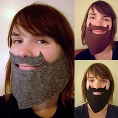 Fake beards @Melissa Spivak Strickers