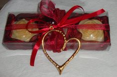 Burgundy Gift Set for Women with Luxury by JoannasScentedSoaps