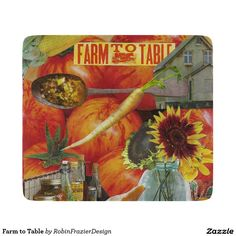 Farm to Table Cutting Board