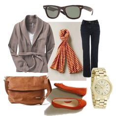 Fall shopping outfit, created by raylanwhite on Polyvore