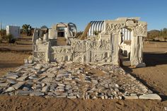 "David DodgeAmong the art installations in and around Joshua Tree, Calif. organized under the umbrella of High Desert Test Sites is ""Here"" (2..."