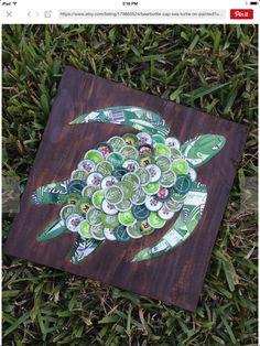 Bottlecap turtle