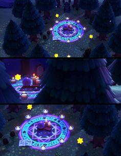 Animal Crossing 3ds, Animal Crossing Qr Codes Clothes, Ac New Leaf, Motifs Animal, Magic Circle, Animal Games, Island Design, Pokemon, Wrapping Ideas