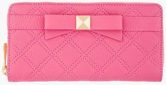 Marc Jacobs Pink Lindy Deluxe Wallet in Pink