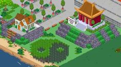 tempio - casa - verde