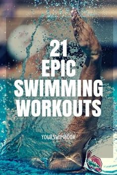 Swimming Workouts The 40 Ultimate Practices for Swimmers is part of fitness - Looking for some epic swim workouts From sprinters to distance swimmers check out these workouts from Michael Phelps, Ryan Lochte, and much I Love Swimming, Open Water Swimming, Swimming Tips, Swimming Coach, Swimming Drills, Competitive Swimming, Swimming Workouts, Swimming Fitness, Masters Swim Workouts