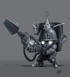 ArtStation - Miner Mole Rat, George Hernandez