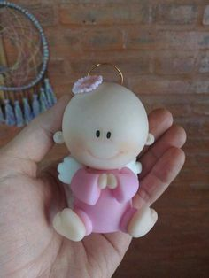 Cute Polymer Clay, Handmade Polymer Clay, Polymer Project, Clay People, Baby Cake Topper, Baby Shawer, Fondant Baby, Giant Cupcakes, Clay Baby