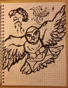 Fandom's drawing ~ Harry Potter, Hedwige -Coline210