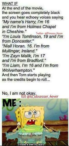 Omg no. No. No. This is not okay.>>>> I love the idea!! But, I'm crying ;...(>>>noooooo
