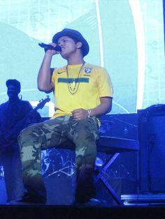 Bruno Mars, Brasil, RJ